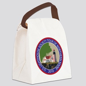 Maine patch Canvas Lunch Bag