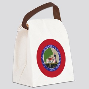 Maine patch 2 Canvas Lunch Bag