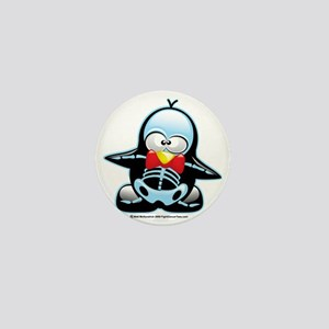 X-Ray-Penguin Mini Button