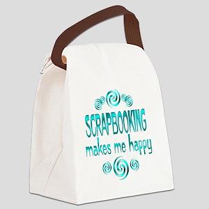 3-scrapbooking Canvas Lunch Bag