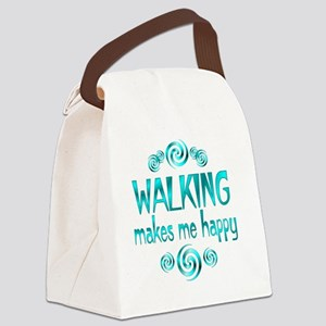 WALKING Canvas Lunch Bag
