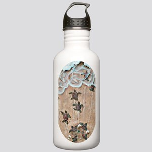 2-Race To The Sea oval Stainless Water Bottle 1.0L