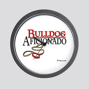 Bulldog Aficionado 2 Wall Clock