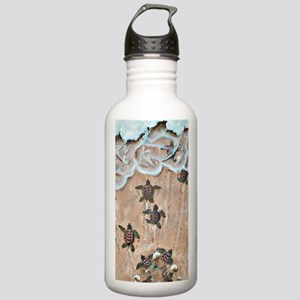 Race To The Sea short Stainless Water Bottle 1.0L