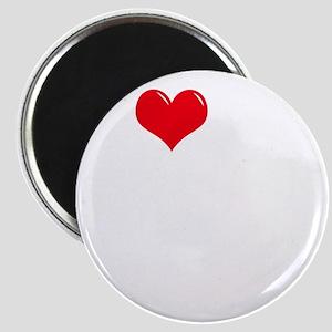 I-Love-My-Schnoodle-dark Magnet