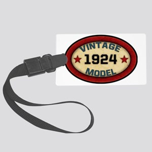 vintage-model-1924 Large Luggage Tag