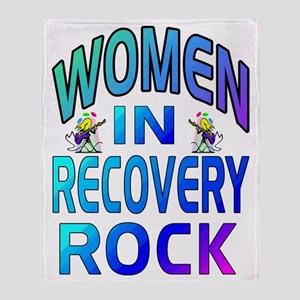 WOMEN ROCK Throw Blanket
