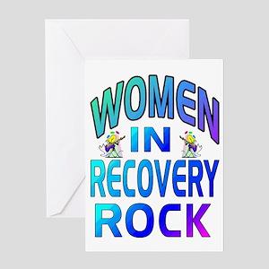 WOMEN ROCK Greeting Card