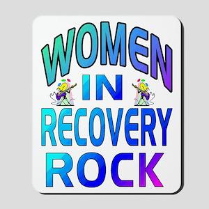 WOMEN ROCK Mousepad