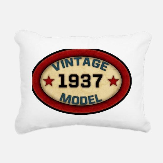 vintage-model-1937 Rectangular Canvas Pillow