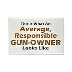 Gun-Owner Rectangle Magnet