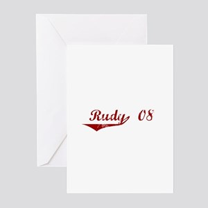 Rudy '08 Greeting Cards (Pk of 10)