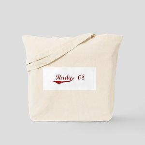 Rudy '08 Tote Bag