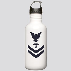 USCG-Rank-HS2-Crow-Sub Stainless Water Bottle 1.0L