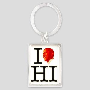 obama-hi Portrait Keychain