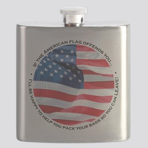 Flag Offends You Flask