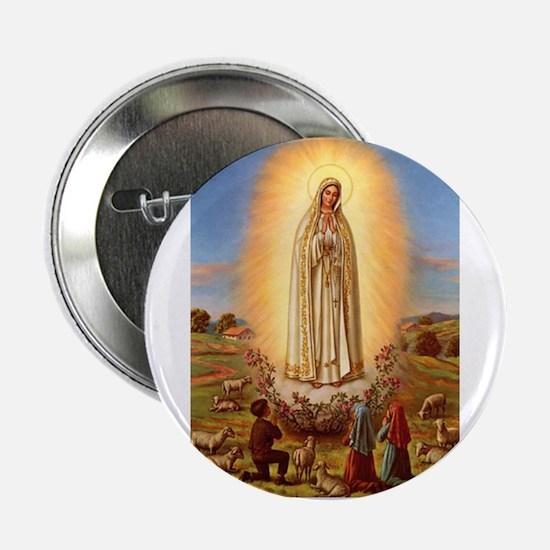 Virgin Mary - Fatima Button