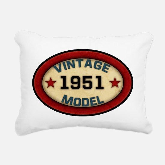 vintage-model-1951 Rectangular Canvas Pillow