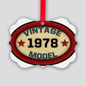 vintage-model-1978 Picture Ornament