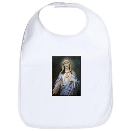 Holy Heart of Mary Bib