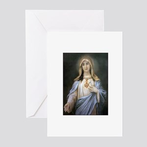Holy Heart of Mary Greeting Cards (Pk of 10)