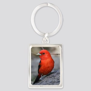 Tanager Portrait Keychain