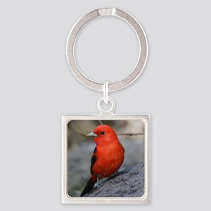 Tanager Square Keychain