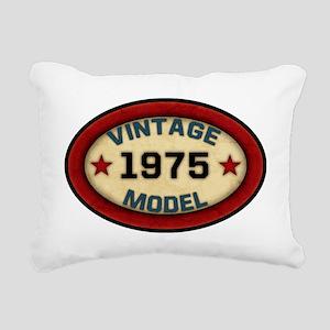 vintage-model-1975 Rectangular Canvas Pillow
