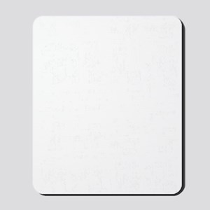 All About Balls White Mousepad
