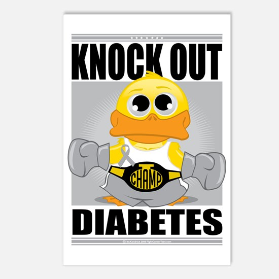 Knock-Out-Diabetes Postcards (Package of 8)