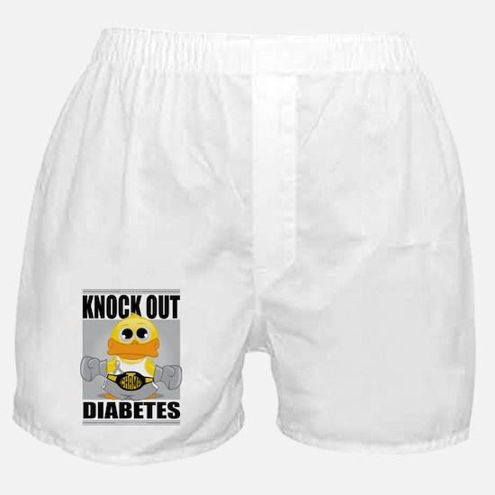 Knock-Out-Diabetes Boxer Shorts