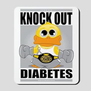 Knock-Out-Diabetes Mousepad