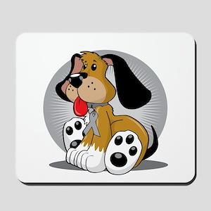 Diabetes-Dog-blk Mousepad