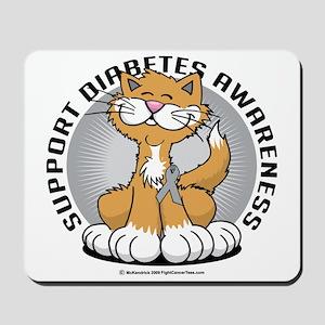 Paws-for-Diabetes-Cat Mousepad