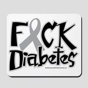 Fuck-Diabetes Mousepad