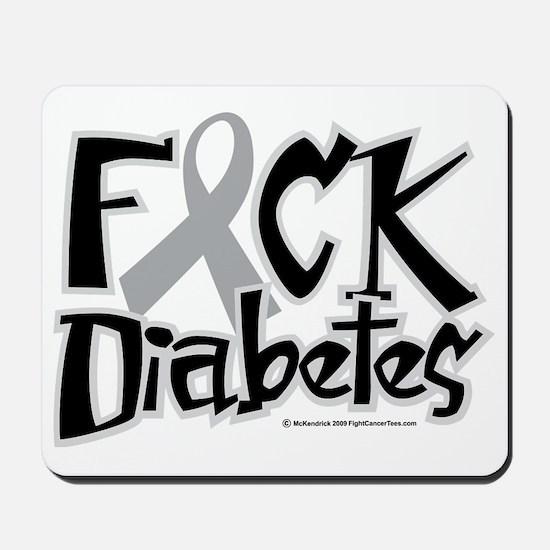 Fuck-Diabetes Mousepad