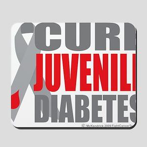 Cure-Juvenile-Diabetes-2 Mousepad