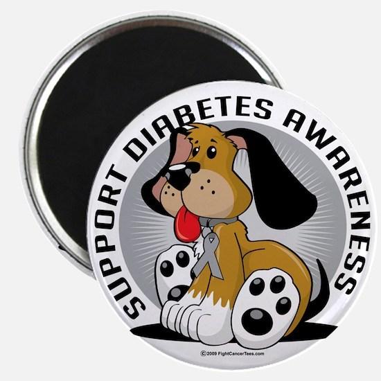 Diabetes-Dog Magnet