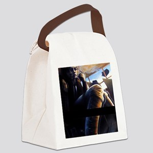 turbulence Canvas Lunch Bag