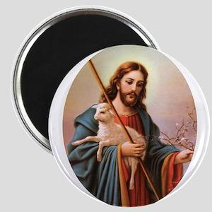 Jesus - Shepherd with Lamb Magnet