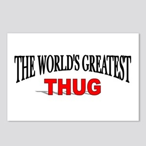 """The World's Greatest Thug"" Postcards (Package of"