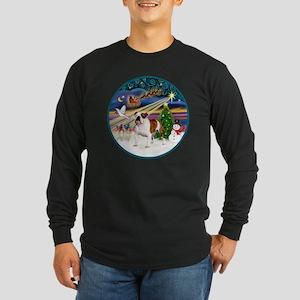 Xmas Magic (R) - English  Long Sleeve Dark T-Shirt