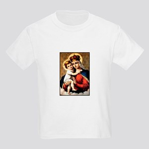 Mary - Madonna and Child Kids T-Shirt