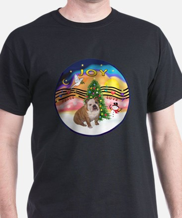 Xmas Music (R2) - English Bulldog 1 T-Shirt