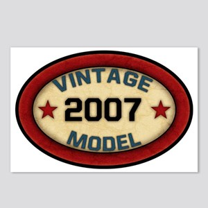 vintage-model-2007 Postcards (Package of 8)