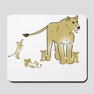 Lionwcubsdark Mousepad