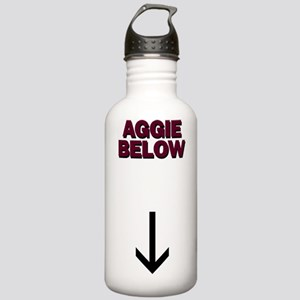 Aggie below Stainless Water Bottle 1.0L