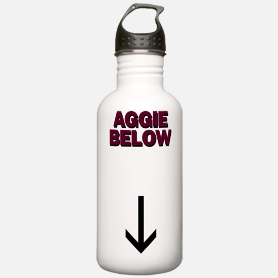 Aggie below Water Bottle
