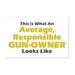 Gun-Owner Mini Poster Print