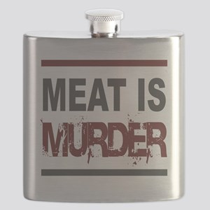 Meat Is Murder squarer-2 Flask